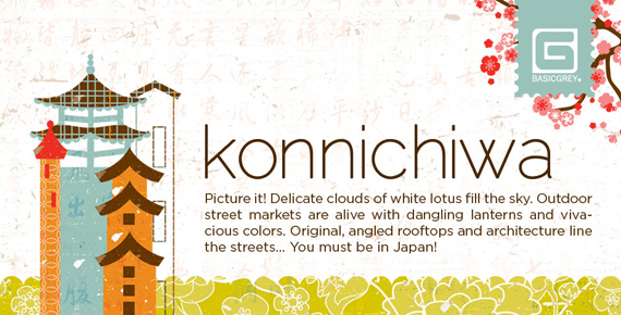 Basic Grey : Konnichiwa