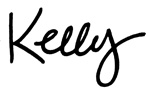 Kelly Rasmussen signature