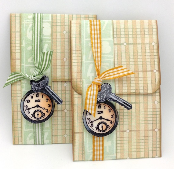 Pocket Watch Cards | Kathy Racoosin