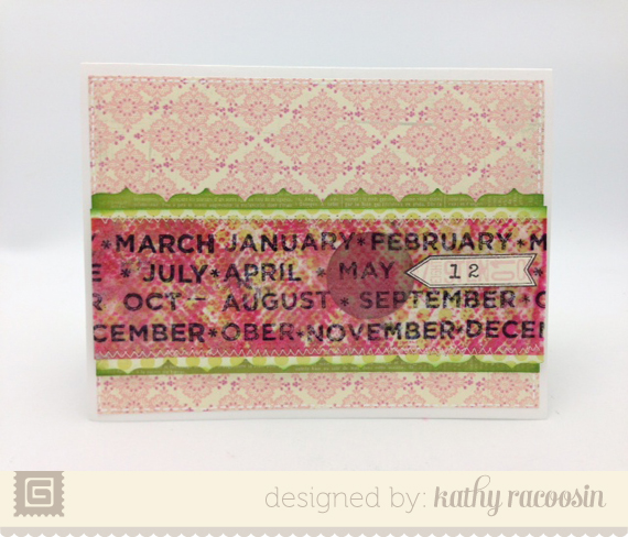Hey Girl Date Card | Kathy Racoosin