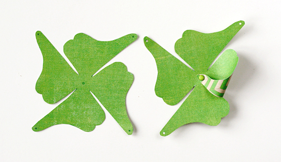 Shamrock Pinwheel Demo | Lisa Storms