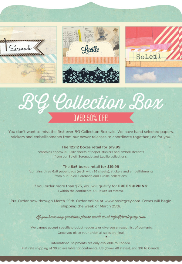 BasicGrey Collection Box Preorder