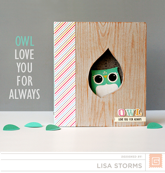 BasicGrey | Owl Mini Album | Lisa Storms