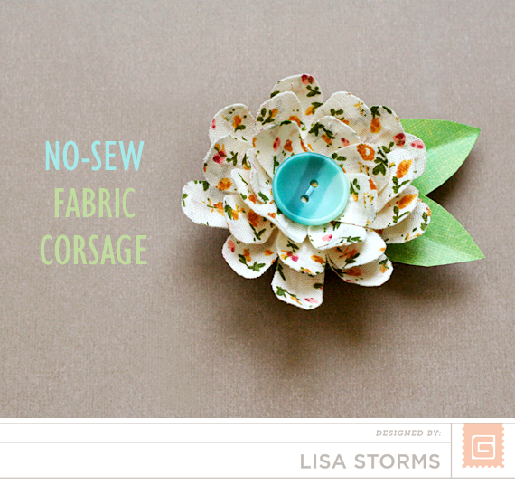 BasicGrey | Mother's Day Corsage | Lisa Storms