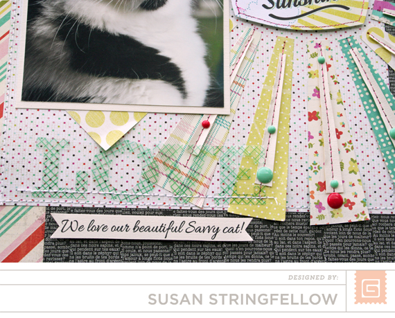 BasicGrey | Candy Buttons | Susan Stringfellow
