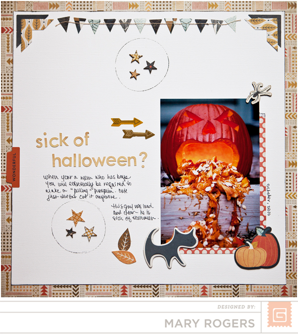 Persimmon Halloween Layout