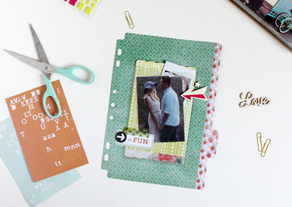 BasicGrey | Capture Clear Pocket Stickers | Ann-Marie Morris