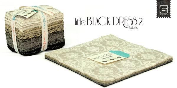 BasicGrey | Little Black Dress | Moda Fabric