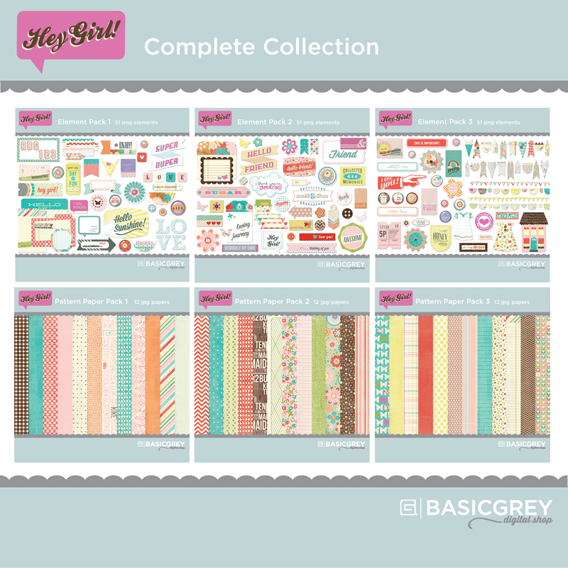 BasicGrey | Hey Girl Digital Collection