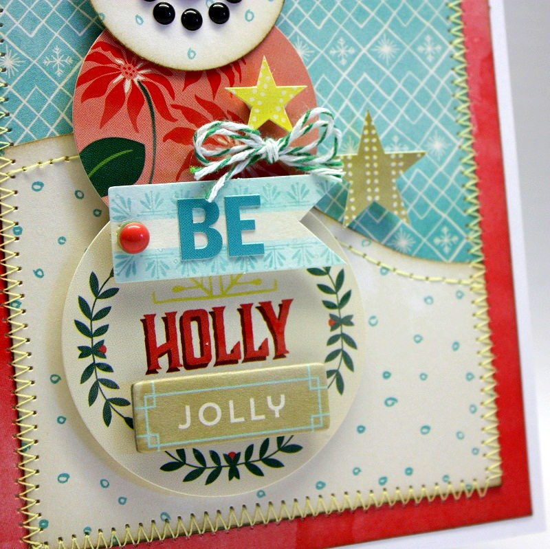 Shellye McDaniel-Evergreen Snowman Card2