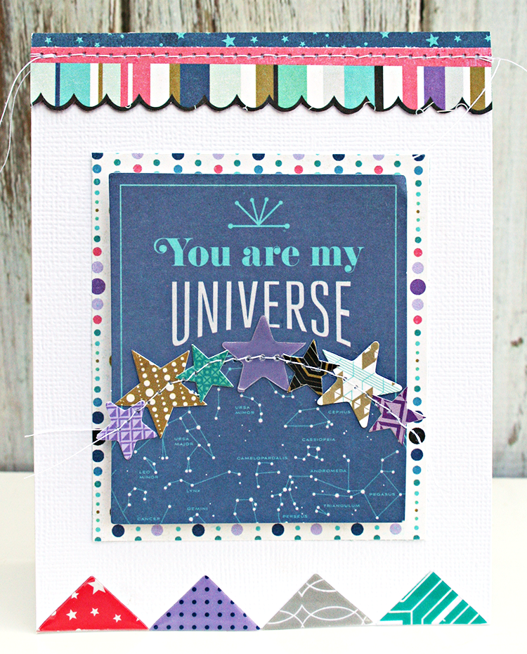 My Universe by Heather Leopard Basic Grey